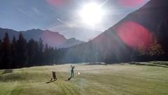 Lichtspiele am Golfplatz