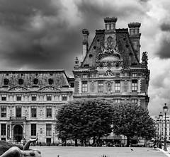 Ecole du Louvre, Jardin des Tuileries, Paris (markmortonsmith) Tags: paris louvre ecoledulouvre jardindestuileries mono bw