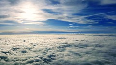 It's beautiful above the clouds! (conaero) Tags: s76 sikorsky sky clouds sun flying 8000 flickr pro thebest 8000feet helicopter