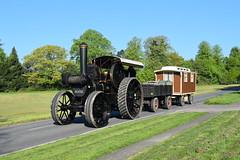 Fowler Crane Engine SG 4713 (davidvines1) Tags: traction steam crane engine trailer caravan