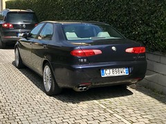 Alfa Romeo 166 ph2 3,2 V6 24v (leocas82) Tags: v6 6v busso italia car auto automobile leocas82 carspotter iphone