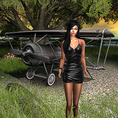 LuceMia - Pink Cherry (2018 SAFAS AWARD WINNER - Favorite Blogger -) Tags: pinkcherry secondlife sl mesh fashion creations casual chic leather dress cassady available colors blog beauty models lucemia