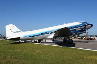 N500MF Douglas DC3C-TP KLAL 12-04-18