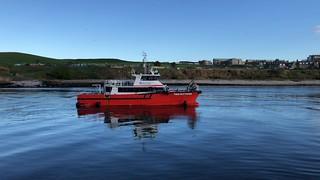 TMS Bittern - Aberdeen Harbour Scotland - 10/5/2018
