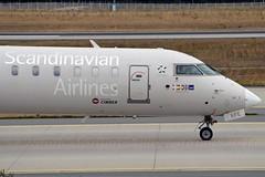 """Ingermar Viking"" SAS Scandinavian Airline System OY-KFE Bombardier CRJ-900 (CL-600-2D24) cn/15224 @ EDDF / FRA 17-09-2016 (Nabil Molinari Photography) Tags: ingermarviking sas scandinavian airline system oykfe bombardier crj900 cl6002d24 cn15224 eddf fra 17092016"
