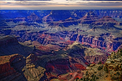 Grand Canyon Sunset (My Americana) Tags: grandcanyon nationalpark np grandcanyonnationalpark arizona az canyon landscape coloradoriver coloradoplateau sunset scenic