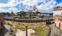 Forum Traiani, Rome (Fliwatuet) Tags: em5 italia italien italy mft olympusomd ostern rom roma rome it lazio pano panorama