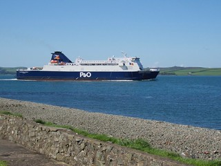 0185 European Causeway setting sail for Ireland