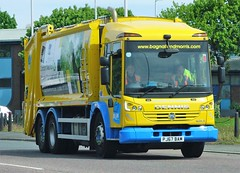 Bagnall & Morris Waste Collector Dennis Eagle Elite 6 PJ67 BAM (sab89) Tags: refuse collection