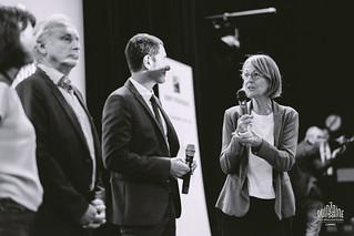 Discours ministre de la culture, maire de Cannes, President de BNP, Louise YLLA SOMERS