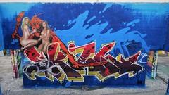 Jamie & Skill / Dok Noord - 7 mei 2018 (Ferdinand 'Ferre' Feys) Tags: gent ghent gand belgium belgique belgië streetart artdelarue graffitiart graffiti graff urbanart urbanarte arteurbano ferdinandfeys jamie skill aerosolkings bestof2018be
