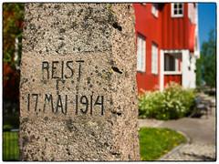 Herredshuset Jessheim #2 (Krogen) Tags: norge norway norwegen akershus romerike ullensaker jessheim herredshuset historie history krogen panasoniclumixgx7 mitakonspeedmaster