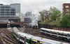 The Morning Rush (Kingmoor Klickr) Tags: 35028 clanline belmond british pullman charter train main line steam bulleid merchantnavy pacific commuting