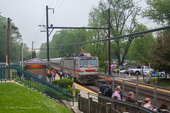 SEPTA AEM-7 #2304 @ Trevose, PA (Darryl Rule's Photography) Tags: 2018 aem7 bomberset buckscounty catenary clouds cloudy electric express langhorne may neshaminyfalls pa passenger passengertrain pennsylvania railroad railroads reading readinglines readingrailroad regionalrail septa spax spring station sunrise trains trevose ttain westtrentonline