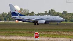 A6-RJY Royal Jet Boeing 737-7Z5(BBJ) (airliners.sk, o.z.) Tags: a6rjy royal jet boeing 7377z5bbj airlinerssk bts bratislava btslzib b737