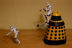130 - 365 nightmare (horsesqueezing) Tags: clonetroopers dalek toys 365 nightmare