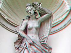 3D red/cyan Anaglyph - Dresden, Nymphenbad im Dresdner Zwinger (3D - red/cyan) Tags: 3d redcyan anaglyph stereoscopic finepixreal3dw1 fujifilmfinepixreal3dw1 dresden dresdnerzwinger zwinger statue skulptur sculpture sachsen
