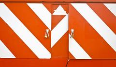 White Stripes Orange (Orbmiser) Tags: mzuikoed1240mmf28pro 43rds em1 mirrorless olympus ore portland m43rds orange trailer stripes metal locks