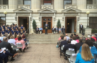 Governor's Wreath Laying Ceremony – 05/21/18