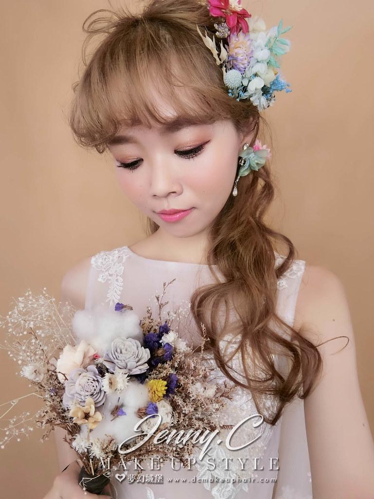 【新秘蓁妮】新娘造型創作 / 甜甜迷人風格