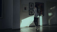 Collision (Stefano93DL) Tags: portrait young indoor art light moody painting