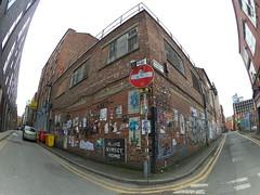 Manchester (682) (benmet47) Tags: street city urban buildings architecture art wallart graffiti stickers posters