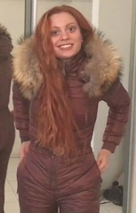 brown1 (skisuitguy) Tags: skisuit skisuits snowsuit ski snow suit skiing skiwear skifashion skioutfit skibunny snowbunny onepieceskisuit onepiecesuit onepiece onesie skianzug skidress allinone