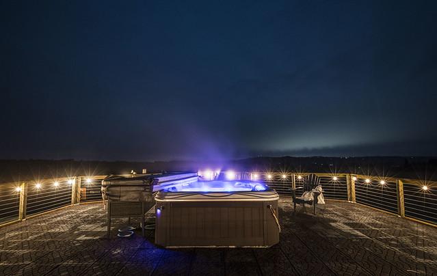 Observatory Hot Tub