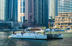 Dubai Marina (Смирнов Павел) Tags: dubai marina yachts skyscraper city uae emirates building landscape embankment boat beach дубай марина яхты небоскреб город оаэ эмираты здание пейзаж набережная катер пляж water sky