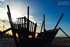 Barco para niños (Javier_Subias) Tags: comarruga comaruga tarragona vendrell catalunya cataluña españa barco ship play juegos niños child amanecer sunrise sol sun cuelo sky nubes clouds azul blue playa beach mar sea verano summer