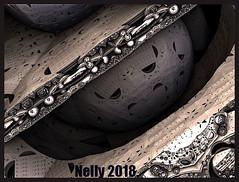 *May...grey!* (MONKEY50) Tags: art abstract fractal grey may ball m3d spring digital hypothetical flickraward musictomyeyes autofocus contactgroups awardtree artdigital