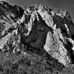 Remnants at a Volcanic Past (Black & White, Big Bend National Park) thumbnail