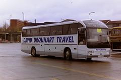 HUTCHISON, OVERTOWN L9BUS (bobbyblack51) Tags: hutchison overtown l9bus plaxton 425 carrouse lorraine buchanan bus station glasgow 1995