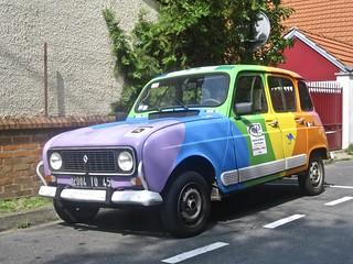 1989 RENAULT R4 GTL Coloured Berline