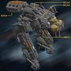 Crone CR-8N 3 (Cagerrin) Tags: lego system technic mech mecha ldd legodigitaldesigner 3d lxf