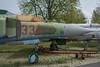 Nose, Mikoyan-Gurevich MiG-23ML, 'Red 332', Luftfahrt Technisches Museum, Rechlin (Peter Cook UK) Tags: mig mikoyan m aircraft gurevich 23 red museum rechlin technisches 332 luftfahrttechnisches luftfahrt l germany avaition