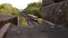 TPE (_J @BRX) Tags: 1e78 1812 liverpoollimest newcastle tpe class185 golcar may 2018 train passenger commuter transpeninneexpress first huddersfield yorkshire england uk nikon d5100 sundown green dmu railway rail railroad tracks bridge