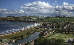view of St Andrews (johnny_9956) Tags: landscape view standrews scotland canon fife sea water buildings coast river hdr