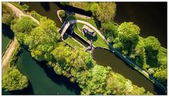 Brookfoot Lock (Father Pie) Tags: drone dji djimavicpro mavicpro aerial westyorkshire brookfootlock canal lock lockgates