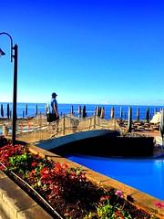 Madeira, Portugal. Funchal, The Cliff Bay Hotel (dimaruss34) Tags: newyork brooklyn dmitriyfomenko image sky clouds portugal madeira svetlanafomenko funchal hotel thecliffhotel ocean pier flowers man