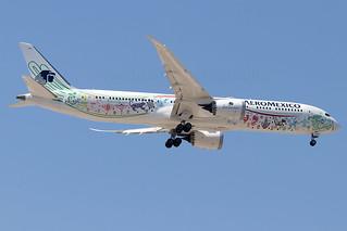 XA-ADL Aeromexico Quetzalcoatl Livery B787-9 Dreamliner Madrid Barajas