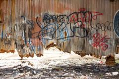 Trying to Look Interesting (Thomas Hawk) Tags: america atlanta georgia prattpullmanyard pullmanyard pullmanyards usa unitedstates unitedstatesofamerica abandoned graffiti fav10