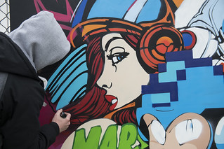 Graffiti without gravity
