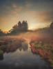 Misty morn (jasonhudson2) Tags: lakedistrict cumbria river water mist landscape portrait tree colour clouds warmth sony