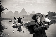 Cormorant Fishermen, the one on the foreground is over 100 years old. At #guangxi, #yangshuo, #china. (C) Joel Santos. Taken with Canon 5D + 17-40 f/4 #liveforthestory #canonportugal #canoneurope #portrait_planet #portrait_universe #travelphotographer #tr (Joel Santos - Photography) Tags: instagram cormorant fishermen one foreground is over 100 years old at guangxi yangshuo china c joel santos taken with canon 5d 1740 f4 liveforthestory canonportugal canoneurope portraitplanet portraituniverse travelphotographer travelphotos travelworld storyteller amazingshots amazingshotz amazingworld