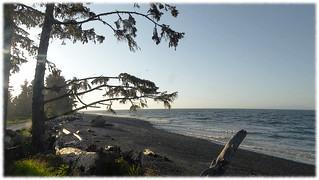 Salish Sea from Cluxewe Resort - 3 (of 3) -  Sony DSC-HX300