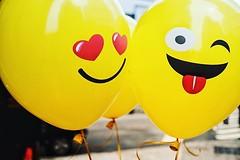 "Fulton Street (aka - Balloon People say ""Happy Friday"") (AMRosario) Tags: ifttt instagram"