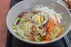 Spicy Chewy Noodles. (Kim Jin Ho) Tags: spicy egg noodle carrot cabbage cucumber bean sprout