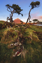 Azores - Pico Morning Light (030mm-photography) Tags: rot azoren azores insel portugal archipel pico picoisland picovulkan vulkan stratovulkan spiegelung see sonnenaufgang sunrise alpenglühen alpenglow reise travel landscape nature natur landfschaft