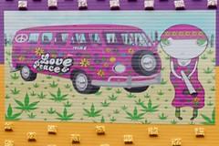 Joiny Love and Peace (Marco Braun (In holidays)) Tags: streetart graffiti sticker colourful farbig bunt multichrome 2017 joiny graffitirainbow arcenciel schrift scriptköln friedrichshein cologne köln opart friede peace paix pax vrede berlin deutschlandgermanyallemagne